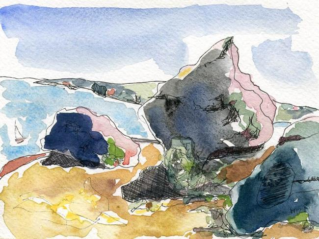 Art: Anias Sydney 4 by Artist Gabriele Maurus