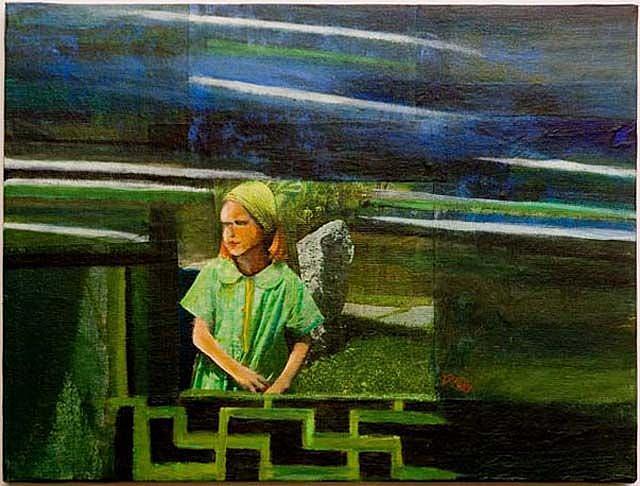 Art: Kunming Zwo by Artist Gabriele Maurus