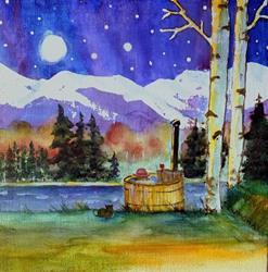 Art: The Good Life -sold by Artist Kathy Crawshay