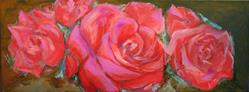 Art: Four Roses by Artist Aylan N. Couchie