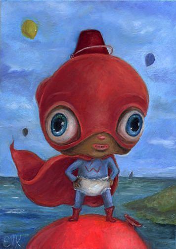 Art: Wonder Wibble by Artist Vicky Knowles