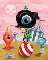 Art: Big Top Skippy by Artist Vicky Knowles