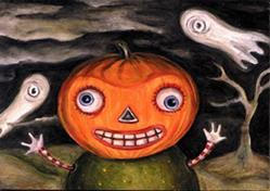 Art: Tricky by Artist Vicky Knowles