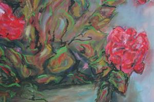 Detail Image for art Nan's Geraniums