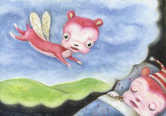 Art: Dreams by Artist Vicky Knowles