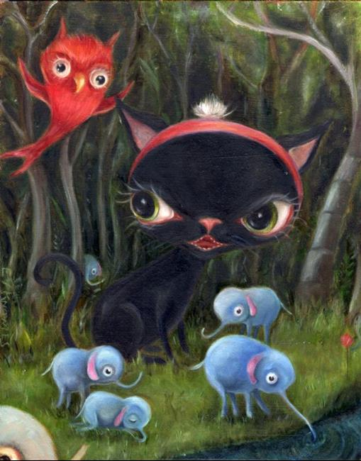 Art: The Intruders by Artist Vicky Knowles