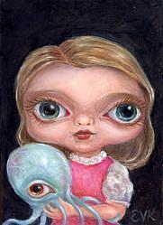 Art: My Cephalopod (Bobby Bill) by Artist Vicky Knowles