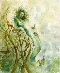 Art: Dream of a Mermaid by Artist Valerie Meijer