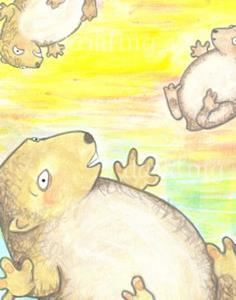 Detail Image for art Lemmings at Sunset
