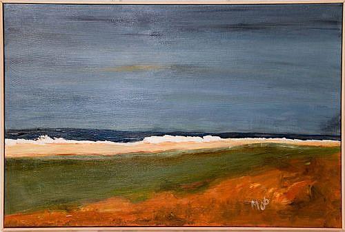 Art: Westerly North Sea by Artist Gabriele Maurus