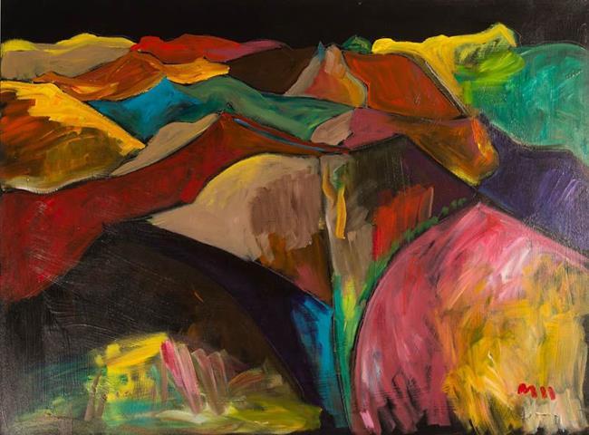 Art: The Woohoo Landscape by Artist Gabriele Maurus