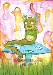 Art: Fatterpillar by Artist Emily J White