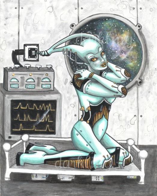 Art: Recalibrate by Artist Emily J White
