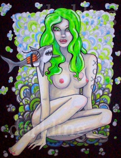 Art: So Dangerous by Artist Emily J White