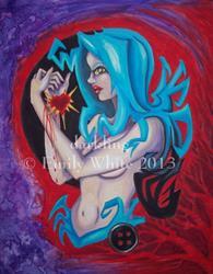 Art: Fool's Blood by Artist Emily J White