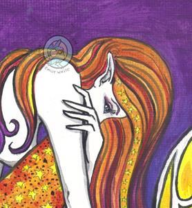 Detail Image for art Low Tide Mermaid (repaint)