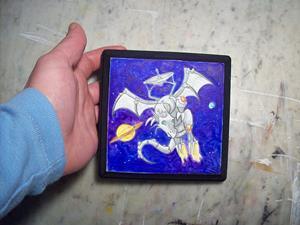 Detail Image for art Dragon Square #5