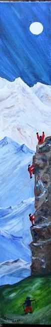Art: Climb On! by Artist Kathy Crawshay
