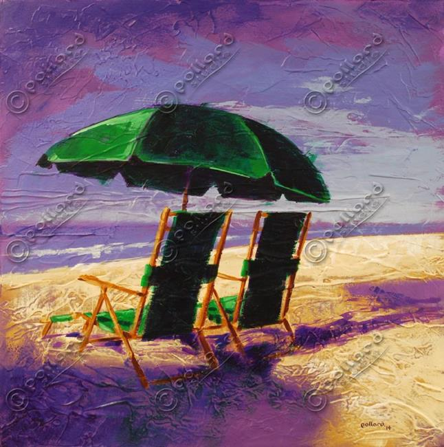 Art: On the Beach wm by Artist Glenn Pollard