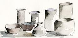 Art: Vessels by Artist Gabriele M.