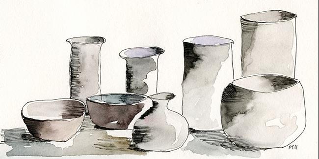 Art: Vessels by Artist Gabriele Maurus