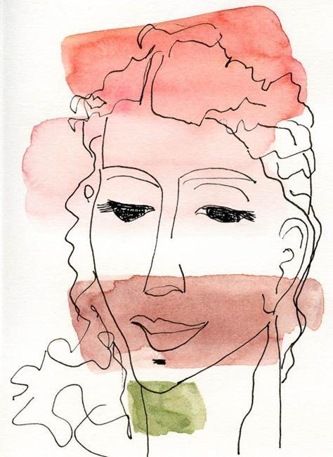 Art: Curly Hair by Artist Gabriele Maurus