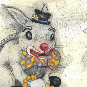 Detail Image for art Bun Bun the Clown