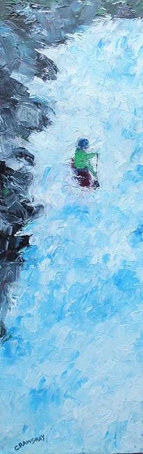 Art: Adrenaline Rush by Artist Kathy Crawshay