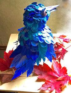 Detail Image for art Shamus, A Quirky Bluebird