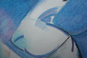 Detail Image for art Study of :Die ersten Tiere by Franz Marc