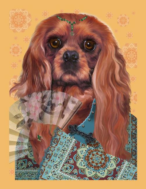 Art: Peace, Love, Jade by Artist Carol Cross