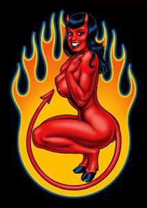 Detail Image for art Devil Girl Bettie