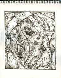 Art: Liebestraum by Liszt by Artist Chris Jeanguenat