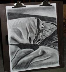 Art: Unmade Bed by Artist Jenny Doss