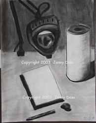 Art: Work Table by Artist Jenny Doss