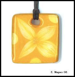 Art: Golden Buds by Artist Elaina Wagner