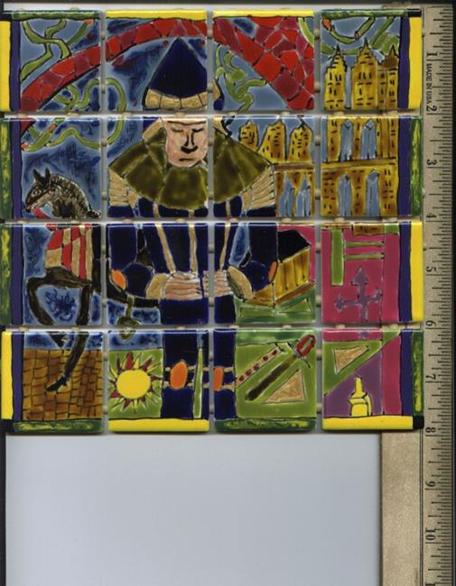 Art: Penitent Knight - SOLD by Artist Dorothy Edwards