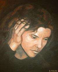Art: Frustration by Artist Lindi Levison