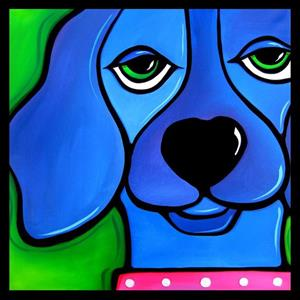 Detail Image for art Fido and Me