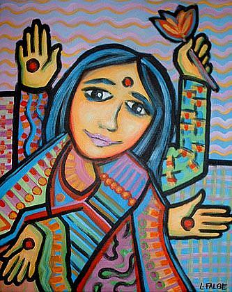 Art: Mother-Goddess by Artist Lindi Levison