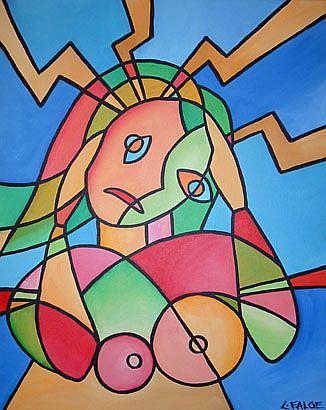 Art: Stress by Artist Lindi Levison