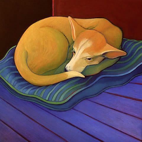 Art: Light Sleeper by Artist Elizabeth Fiedel