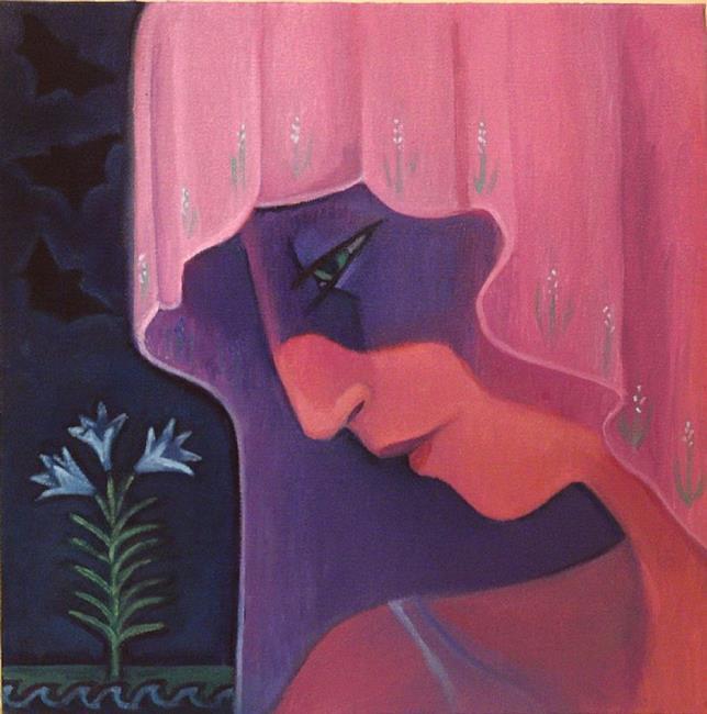 Art: Persephone by Artist Elizabeth Fiedel