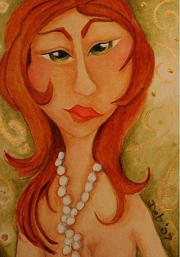 Art: Jackie by Artist Deb Harvey