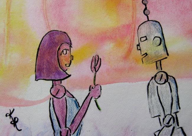 Art: CyberLove by Artist Kathleen Ralph