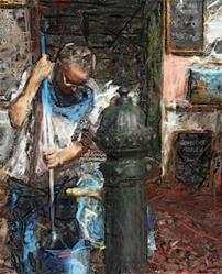 Art: Street Cleaner by Artist Deanne Flouton