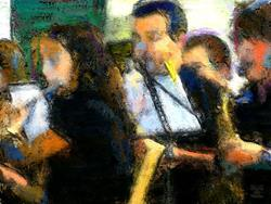 Art: Youth Concert by Artist Deanne Flouton