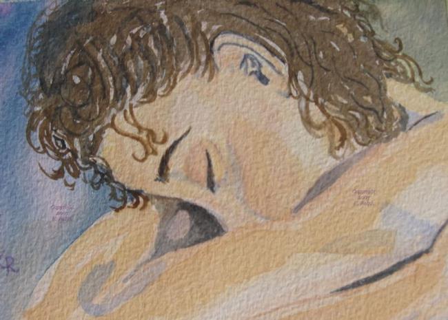 Art: That Sinking Feeling - Sold by Artist Kathleen Ralph