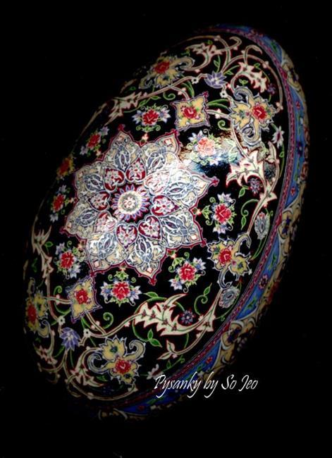 Art: Isfahan 9th Installment Persian Rug Series by Artist So Jeo LeBlond