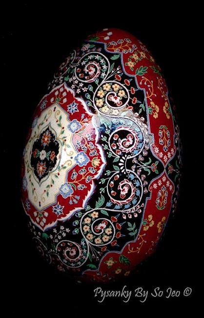 Art: Tree of Life : Persian Rug Series by Artist So Jeo LeBlond